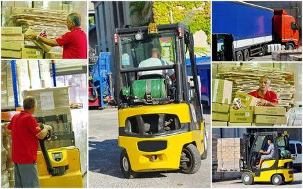 Visa Métiers : Transport / Logistique Titre Professionnel Préparateur de Commande en entrepôt (NIVEAU V)
